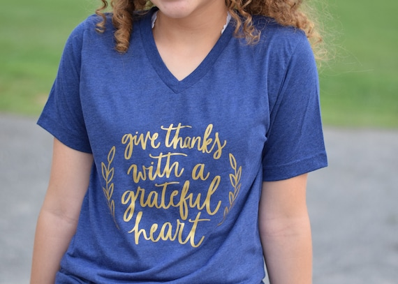fall shirts for women grateful thankful blessed shirt