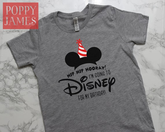 Kids Disney Shirts Birthday Family