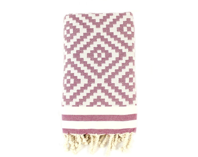 Featured listing image: Organic Cotton/Linen Kilim Tapestry Turkish Bath Towel Throw Tablecloth Couch Sofa Cover Bed Cover Boho Nursery Fall Home Decor