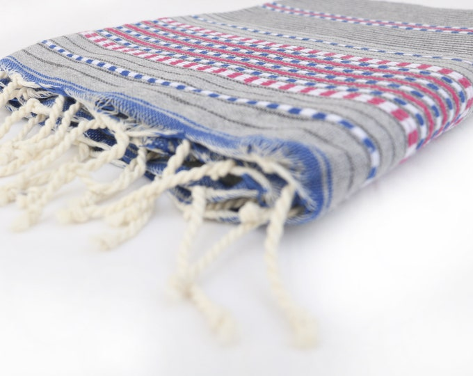Featured listing image: 40x80 organic gray off bleu Berber