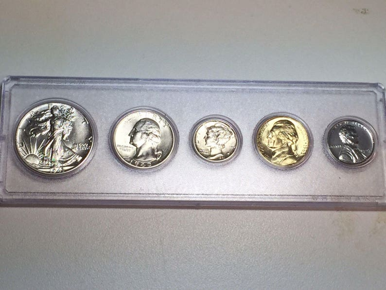50 coins 1970 Lincoln Cent Roll Choice//Gem BU OBW Unsearched