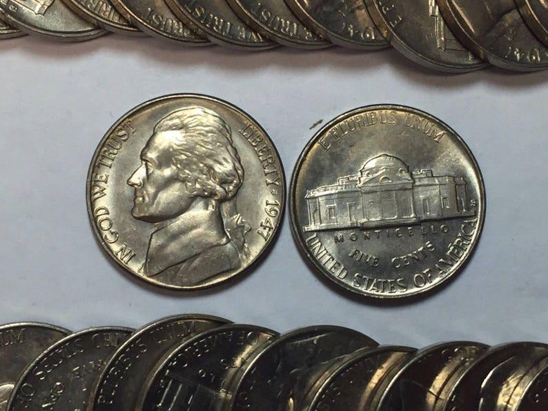 1966 BU Jefferson Nickel Pulled From OBWRoll