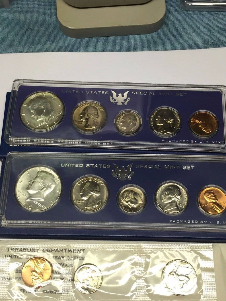 1967 US Special Mint Sets 1966 SMS with Free Shipping!