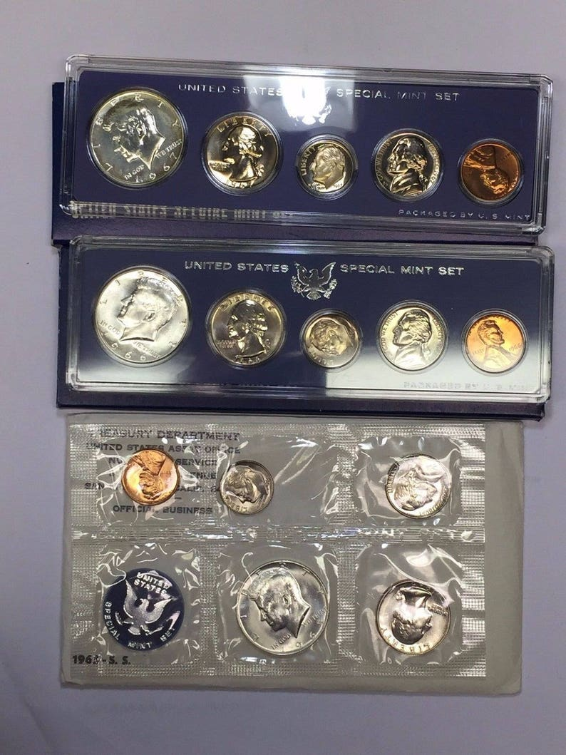 1966 Special Mint SMS Set United States US Original Government Packaging Box