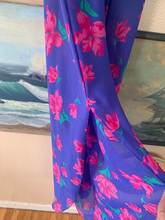 Vintage Floral Slip Dress by Barbizon - image 8