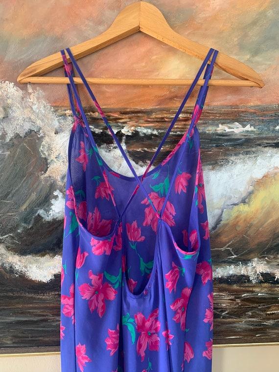 Vintage Floral Slip Dress by Barbizon - image 6