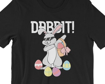 03cbcea3218 Dabbing Rabbit - Dabbit T-Shirt UNISEX Funny Dabbing Hip Hop Easter Bunny  Shirt for men and women Funny Easter Bunny Gift