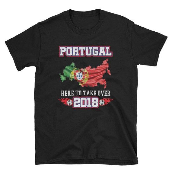 portugal 2018 soccer t shirt portuguese flag russia 2018. Black Bedroom Furniture Sets. Home Design Ideas