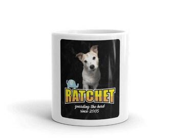 Ratchit Wood Cute Jack Russell Terrier Mug Jack Russell Terrier Fan Group Merchandising Gift