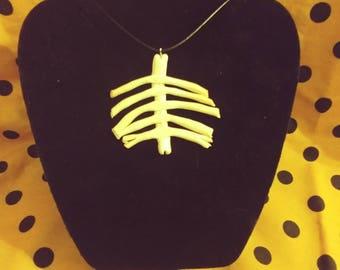 Ribcage Bone Necklace
