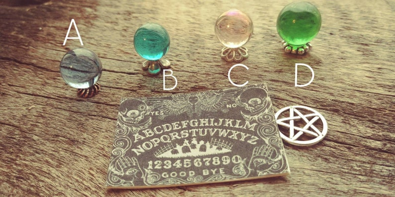 Miniature 1:12 Fortune Tellers Ball CRYSTAL Ball with Ouija Board Dollhouse  Mini Halloween Scene Fairy Garden Gazing Ball Free Shipping
