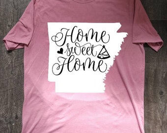 Arkansas-Home Sweet Home T-shirt