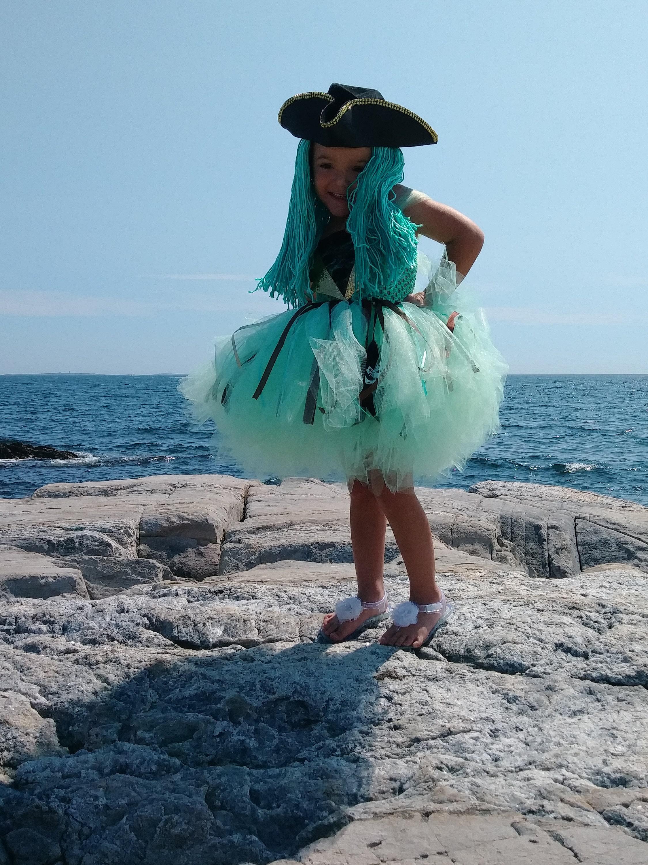 Disney Descendants Uma Inspired Tutu Costume Dress HatHair Included