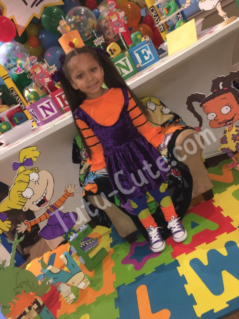 Rugrats Outfit Angelica dress Rugrats  costume Rugrats  Angelica  outfit