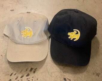943af640 Lion King Hat | Simba Drawing Hat | | Disney Hat | Baseball / Dad Hat Fit |  Disney Embroidered Hat