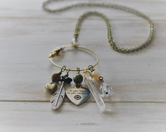 boho charmer let your heart be your compass