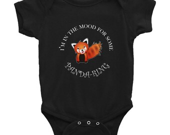 Image of: Halloween Costumes Red Panda Infant Bodysuit Cute Panda Cute Red Panda Baby Red Panda Bodysuit Baby Bodysuit Baby Onepiece Infant Onepiece Onesie Pinterest Red Panda Onesie Etsy