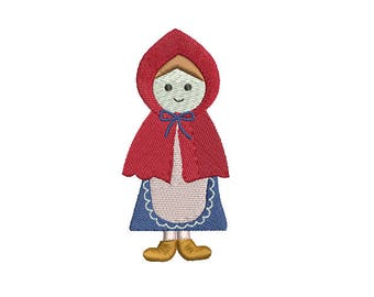 Little Red Riding Hood-Machine Embroidery Design