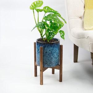Golden Teakpeak 2 Tier Plant Pot Stand 50cm Plant Stand Flower Pot Holder Indoor Plant Stand Flower Pot Holder for Home Decor