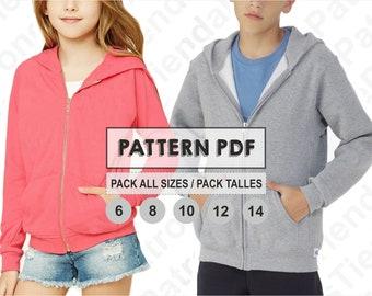 26448fe3db PATTERN Polo Shirt for Kids Sewing Pattern Digital Pattern | Etsy