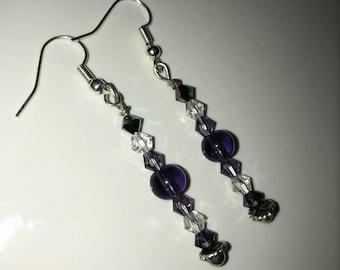 Swarovski crystal beaded earrings