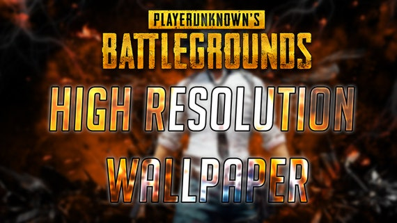 4K HD PUBG Wallpaper Player Unknowns Battle Grounds Gaming | Etsy
