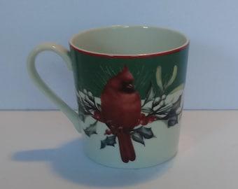 Lenox winter greetings cardinal mug winter greetings etsy lenox winter greetings mug cardinals catherine mcclung artist lenox dinnerware christmas mugs cardinal m4hsunfo