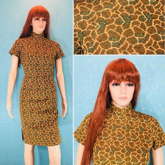 Mandarin Madmen Wiggle Dress