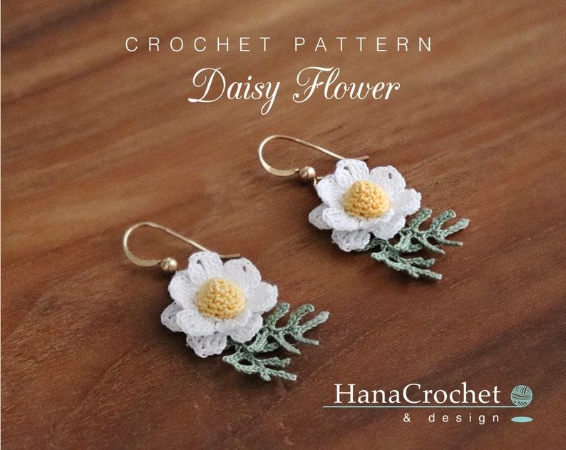 Crochet daisy flower pattern  crochet tutorial how to make image 0