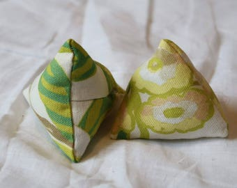 Catnip/Valerian/SIlvervine Pyramid Cat Toys