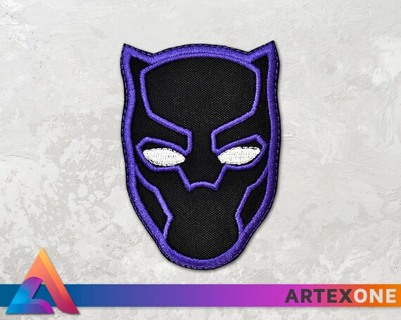 Black Panther Wakanda King T/'Challa Cosplay Embroidered PATCH