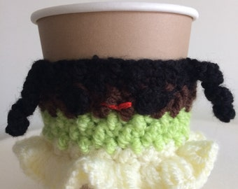 Tiana inspired cup cosy