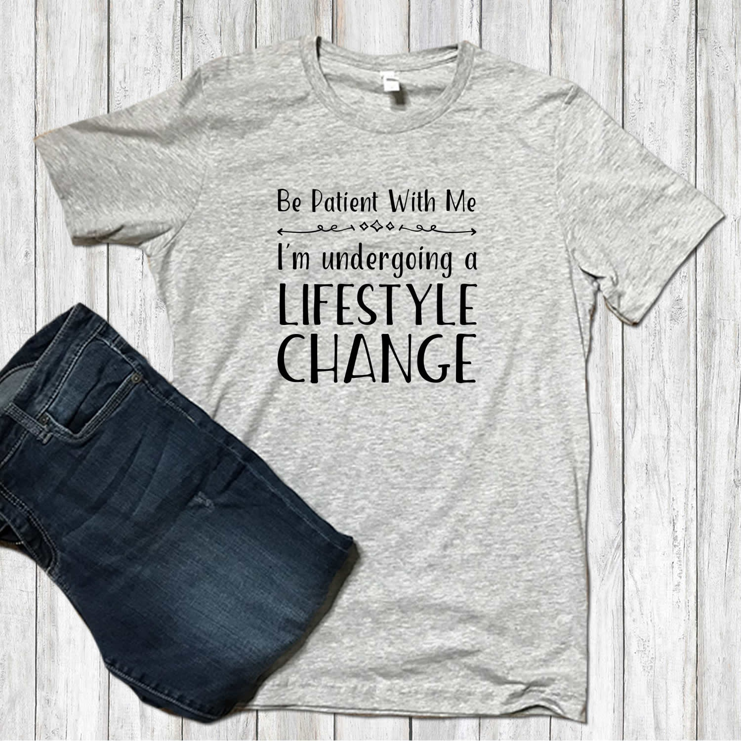 b3f2cf2465 Lifestyle Change Best Health Gifts Funny T-shirts Health and | Etsy
