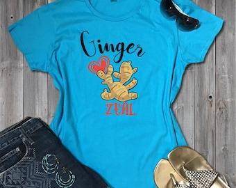 Best Ginger Tee Foodie Chef Gift | Foodie Tshirt Mens Ginger Gift | Foodie Tee Womens Cute Foodie Gift | Women's Sizes S-2X