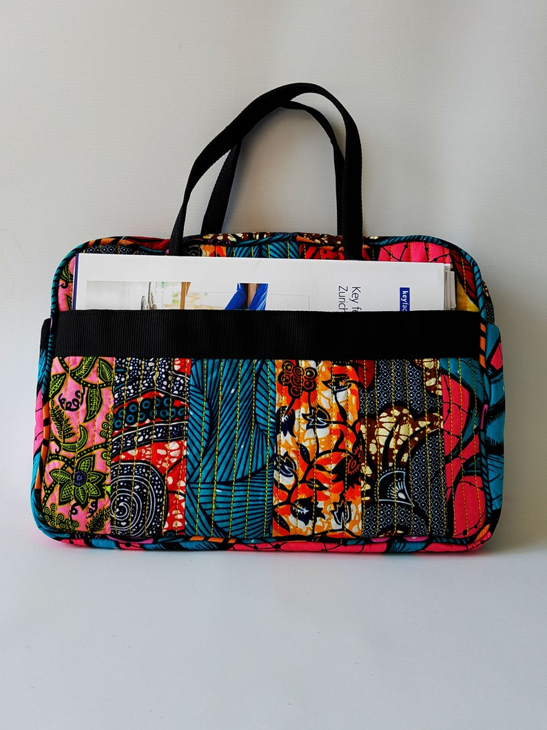 Quilted Patchwork Bag image 0
