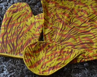 African print Kitchen set(Apron, Oven Mitt AND Pot Holder)