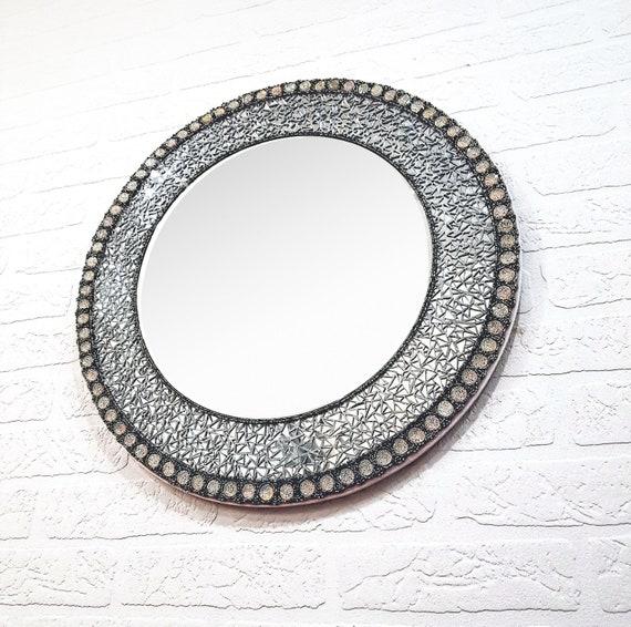 Runde Mosaik Spiegel 20 Dekorative Spiegel Mit Strass Moderne Spiegel Wand Kreis Spiegel An Der Wand Ein Von Einer Art Spiegel Auf Lager