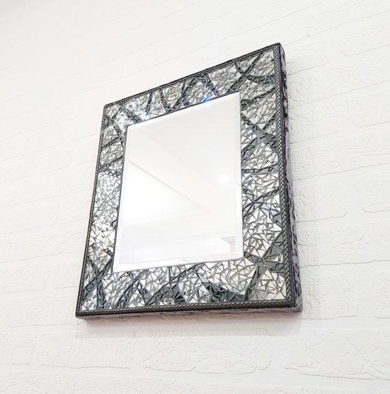 Mosaik Spiegel Rechteck Spiegel Wand Dekor Eitelkeit Spiegel 16 X 14 Auf Lager