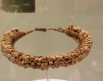 Antique Necklace Of Real Human Teeth