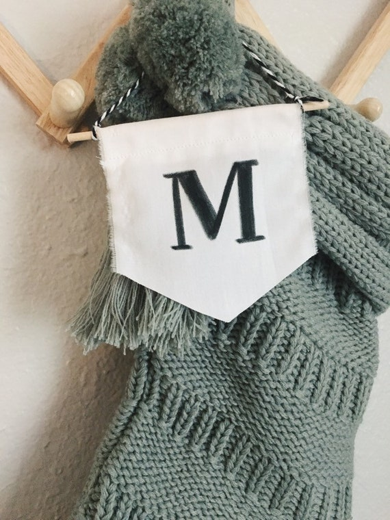 personalized stocking tags Christmas stocking tag calligraphy stocking ornament fabric stocking name tag Stocking tag