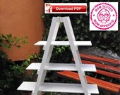 Plant Ladder Plan Plant Stand Plan Ladder Plan Wood Plant Stand Plan Wood Plant Ladder Plan ladder decor plan wood plan pdf plan pdf pattern