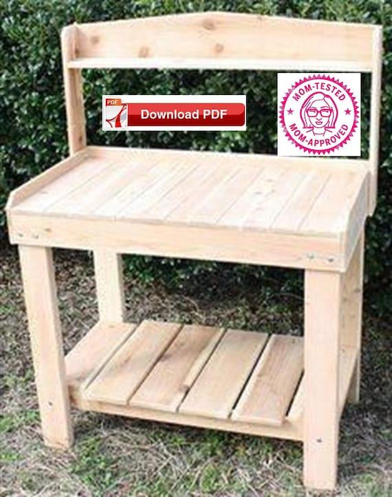 Planting Table Plan/Garden Table Plan/Plant Stand Plan/herb stand plan/wood  plant stand plan/potting table plan/potting stand plan/pdf plan