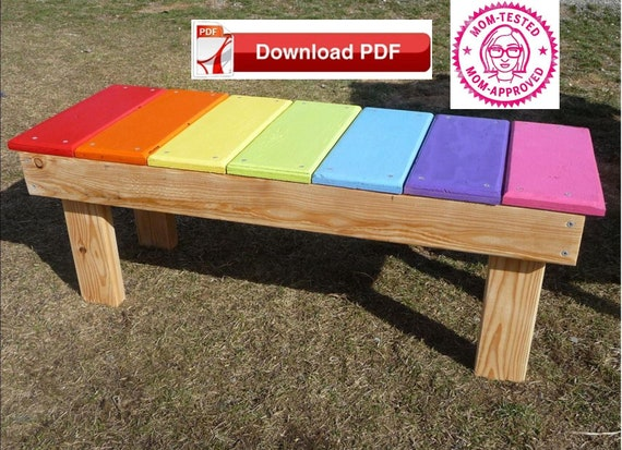 Pleasant Bench Seat Plan Wood Bench Plan Toddler Wood Bench Plan Bench Plan Rainbow Bench Plan Reading Bench Plan Bench Pdf Plan Time Out Seat Plan Gmtry Best Dining Table And Chair Ideas Images Gmtryco