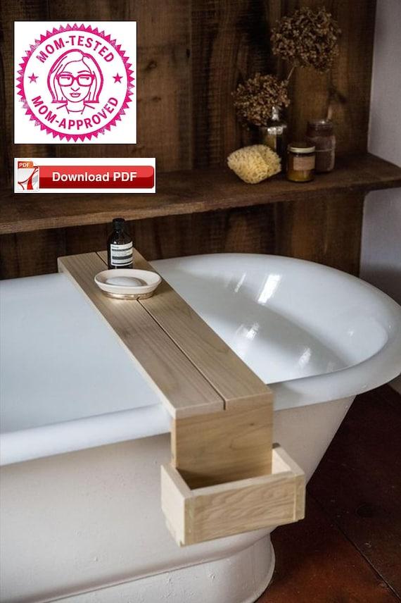 Bath Tray Plan Bath Caddy Plan Bathtub Caddy Plan Wood Tray Etsy