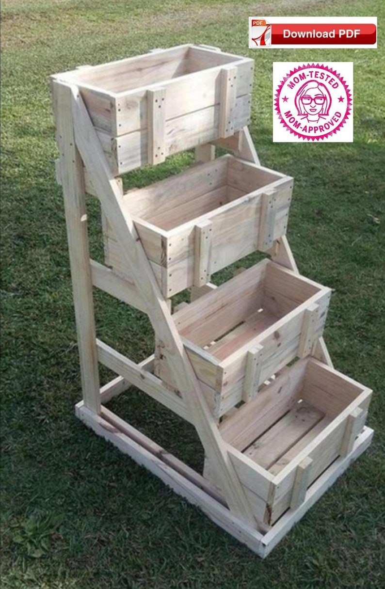 crate display stand plan/wood display stand plan/display stand plan/wood  crate craft plan/craft crate plan/craftshow plan/4 tier stand plans