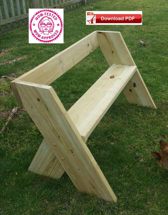 Magnificent Garden Bench Plan Wood Bench Plan Porch Bench Plan Patio Banch Plan Single Seat Bench Wood Seat Plan Patio Seat Plan Wood Pdf Plan Pdf Plan Creativecarmelina Interior Chair Design Creativecarmelinacom