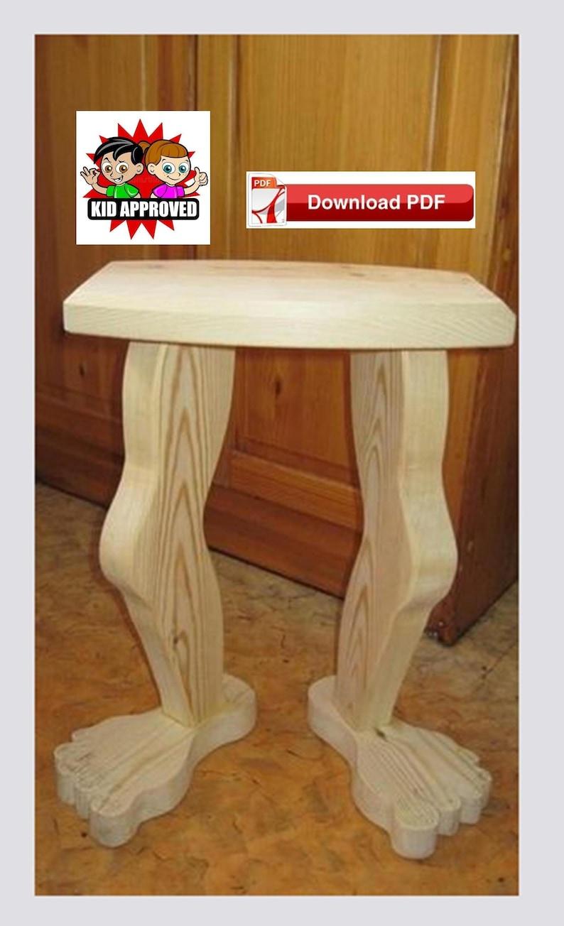 Pleasant Foot Stool Plan Table Leg Plan End Table Plan Wood End Table Plan Book Stand Plan Plant Stand Plan Pdf Plan Wood Pattern Wood Pdf Alphanode Cool Chair Designs And Ideas Alphanodeonline