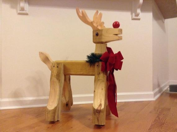 Christmas Reindeer Plan Etsy