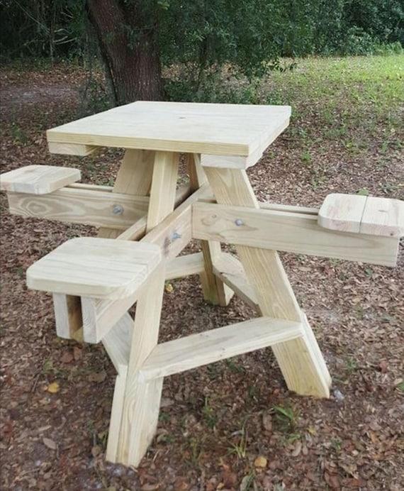 4 seat table plan/high top table plan/tall picnic tabel plan/bar table  plan/wood picnic table plan/picnic table plan/table pdf plan/wood pdf