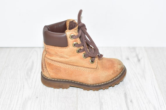 Brown Genuine Leather TIMBERLAND Ankle